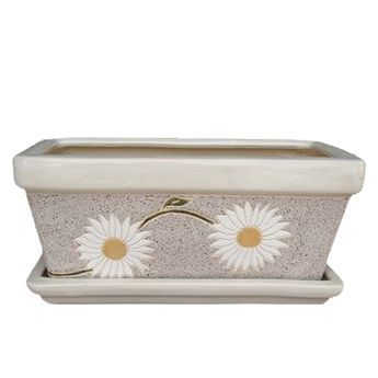Ceramic flower box